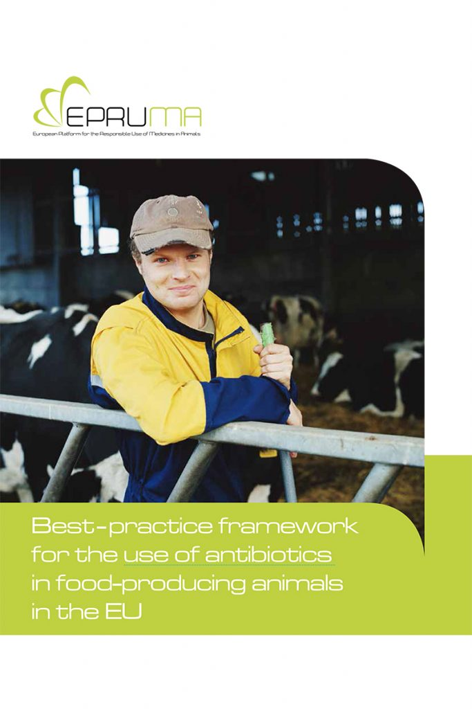 Best-practice framework for the use of antibiotics in food-producing animals in the EU cover